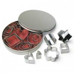 emporte pieces metalliques assortiment varie