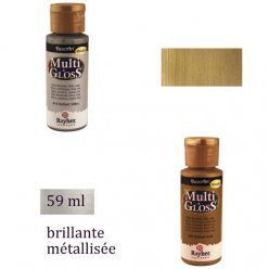 multi gloss peinture metallique brillante 59 ml