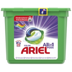 restposten ariel 3in1 pods waschmittel color 22 wl