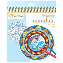 avenue mandarine malbuch graffy pop mandala boy