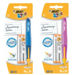 bic kids porte mines learner mechanical pencil blister