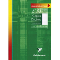 clairefontaine copies doubles non perforees a4 200 pages