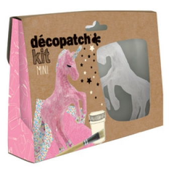 decopatch pappmache set einhorn 5 teilig