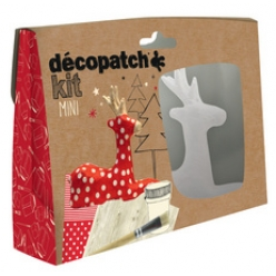decopatch pappmache set rentier 5 teilig