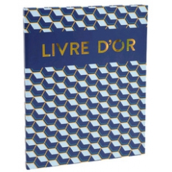 exacompta livre d or copper time 270 x 220 mm orbleu