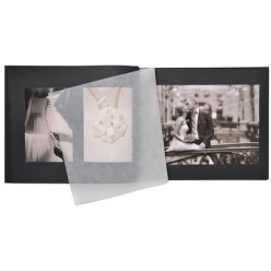 exacompta album photos a vis ceremony 370 x 290 mm noir