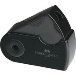 faber castell taille crayon sleeve mini noir