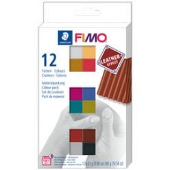fimo effect leather kit de pate a modeler kit de 12
