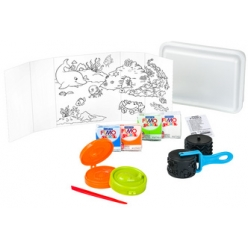 fimo kids modellier set tool box sealife 10 teilig