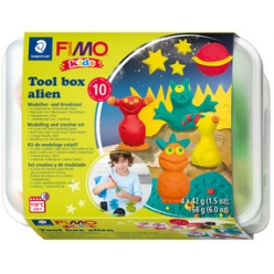 fimo kids kit de modelage tool box alien 10 pieces