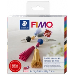 fimo effect leather kit de modelage tassels a cuire au four