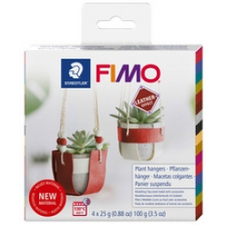 fimo effect leather kit de modelage panier suspendu