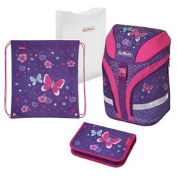 herlitz cartable motion plus butterfly