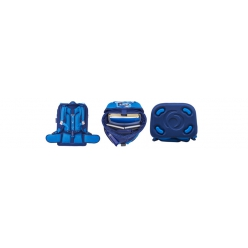 herlitz cartable motion plus blue cubes