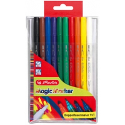 herlitz feutre double pointes magic colours