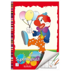 herlitz super cahier de coloriage format a4 128 pages