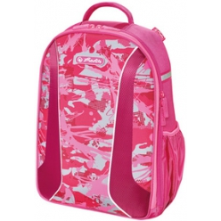 herlitz Sac a dos pour ecole be.bag AIRGO Camouflage pink