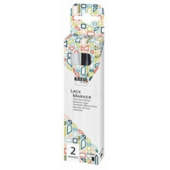 kreul lackmarker gloss paint marker medium 2er set