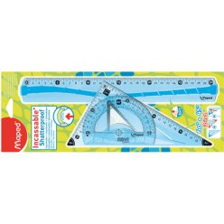 kit de geometrie flex incassable 3 pieces