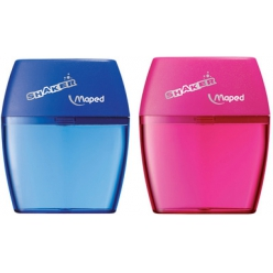 maped double taille crayon shaker couleurs assorties