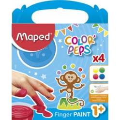 maped my first fingerfarbe color peps 4er kartonetui