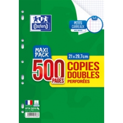 oxford copies doubles perforees a4 quadrille maxi pack