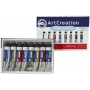royal talens acrylique artcreation expression 12 ml set 8