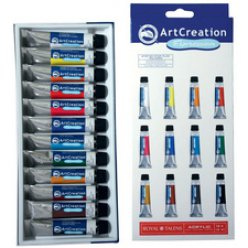 acrylique artcreation expression set de 12x12ml