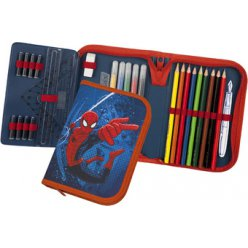trousse scolaire spiderman