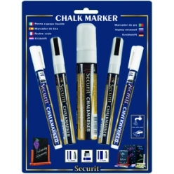 securit kreidemarker original im mix set wei