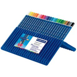 crayon aquarellable ergosoft aquarelle box de 24