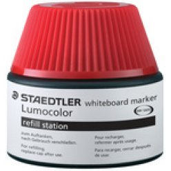 staedtler lumocolor flacon recharge 488 51 rouge
