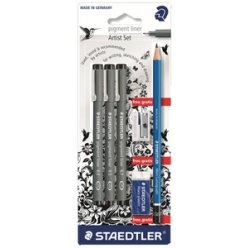 set special zentangle de staedler feutre crayons