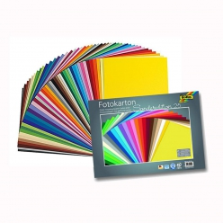 papier cartonne 35x25 cm 300g 25 couleurs assorties