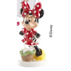 bougie disney minnie 8cm