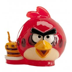 bougie angry birds 6 cm