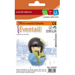 moule thermoforme kokeshi eventail