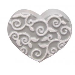 moule thermoforme coeur arabesque