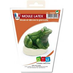 moule en latex grenouille rainette