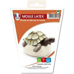 moule en latex tortue