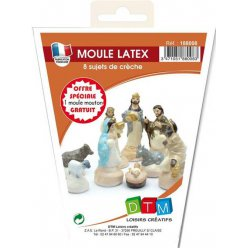 moule en latex la creche