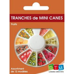 tranches de canes mini mini fruit