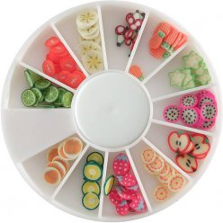 tranches de canes mini mini fruit exotique