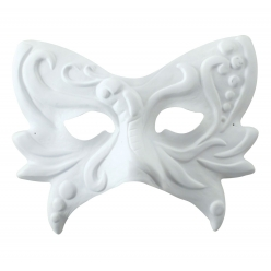 masque papillon grand modele 22x17x6 cm