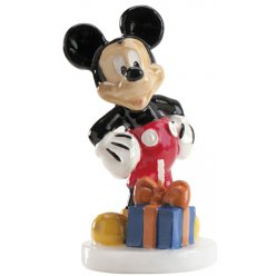 bougie disney mickey 8cm