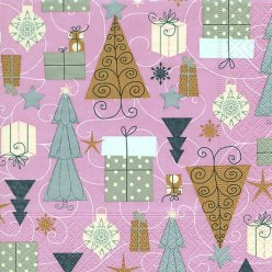 serviette noel 20 pieces