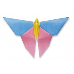 serviette origami papillon 1 12 pieces