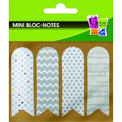 notes adhesives marque page 80 pieces