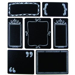 stickers ardoise etiquette 28 pieces