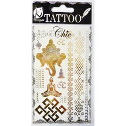 tatouage ephemere tatoo chic ganesh